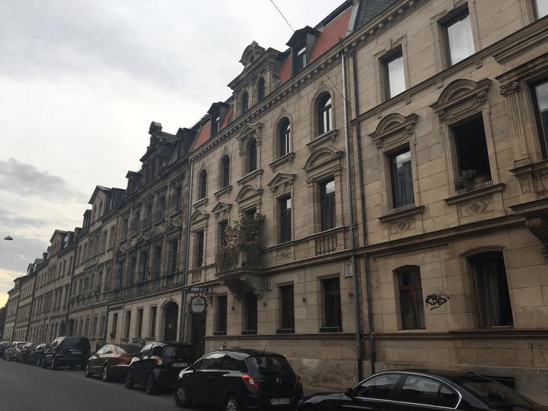 Karolinenstraße Nordseite